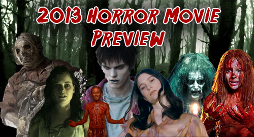 2013 Horror Movie Preview