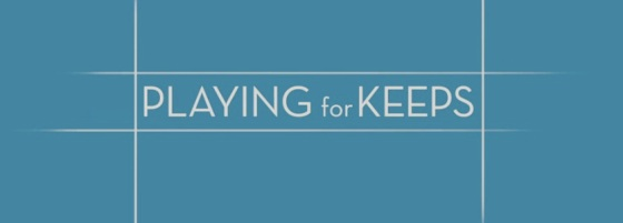 Playing For Keeps Movie Title Logo