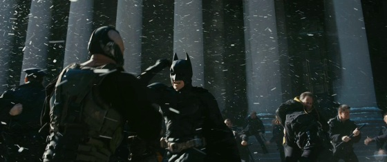 The Dark Knight Rises Hardy and Bale