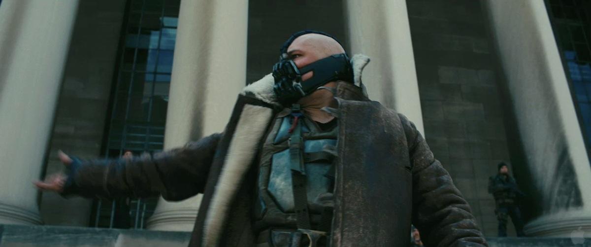 The Dark Knight Rises Screenshot Tom Hardy