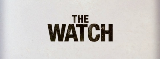 The Watch Movie Title Logo
