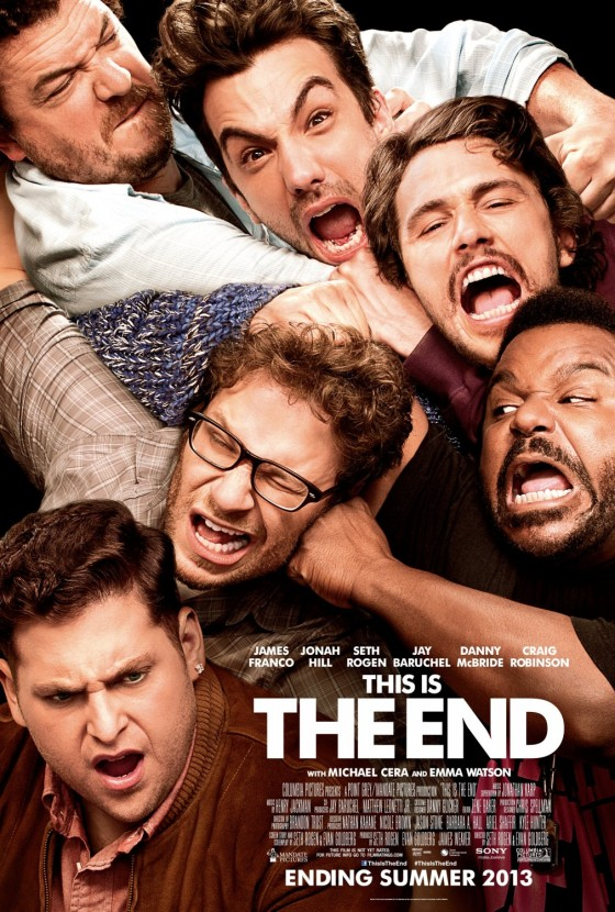 This is the End 2013 Movie Teaser Poster