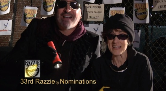 33rd Razzie Award Nominees