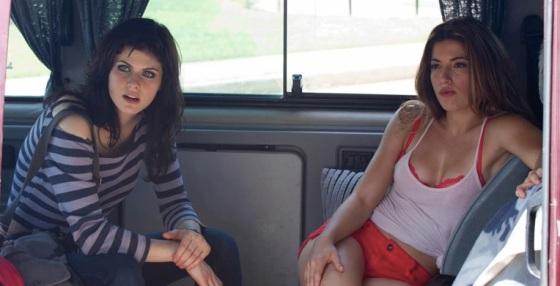 Alexandra Daddario and Tania Raymonde