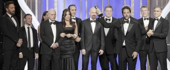 Argo Best Picture Drama 2013 Golden Globe Awards