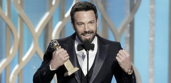 Ben Affleck Best Director 2013 Golden Globe Awards