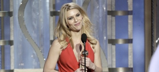 Claire Danes Homeland 2013 Golden Globe Awards
