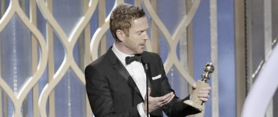 Damian Lewis 2013 Golden Globe Awards