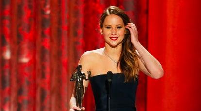 Jennifer Lawrence SAG Awards 2013