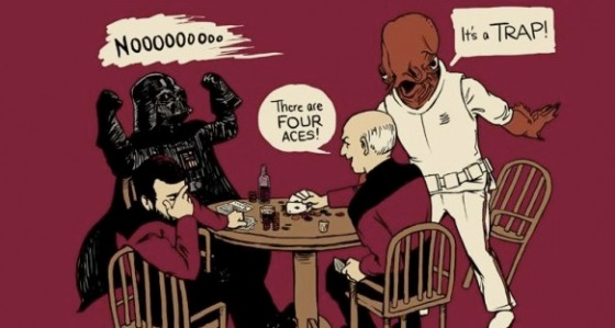 Star Wars Meets Star Trek
