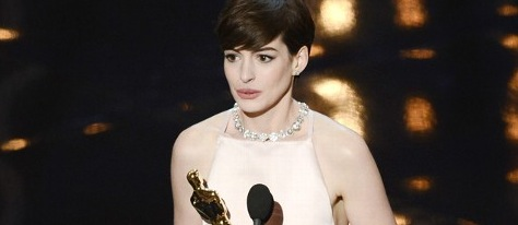 Anne Hathaway Best Supporting Actress Oscars 2013