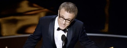 Christoph Waltz Best Supporting Actor Oscars 2013
