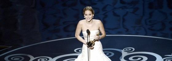 Jennifer Lawrence Best Actress Oscars 2013