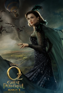 Oz The Great and Powerful Character Poster Evanora Rachel Weisz
