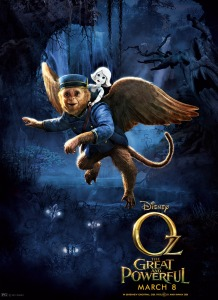 Oz The Great and Powerful Character Poster Finley and China Girl