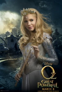 Oz The Great and Powerful Character Poster Glinda Michelle Williams