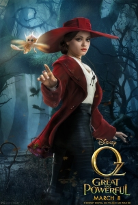 Oz The Great and Powerful Character Poster Theodora Mila Kunis