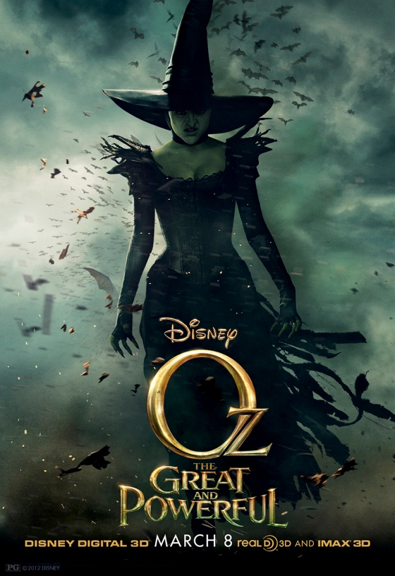 Oz The Great and Powerful Character Poster Wicked Witch of the West