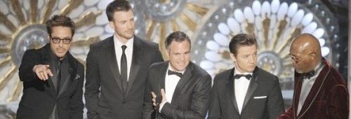 The Avengers Oscars 2013