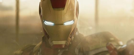 Marvel Iron Man 3 Trailer Helmet