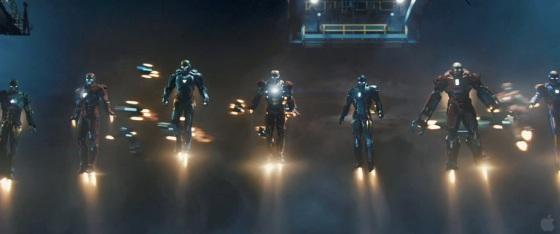 Marvel Iron Man 3 Trailer Iron Man Army