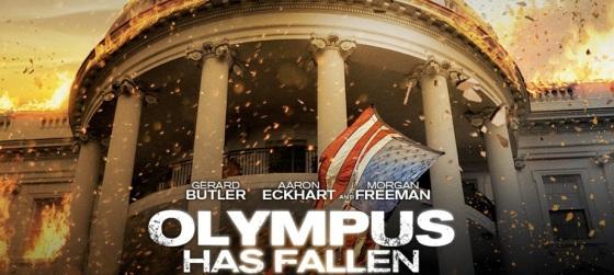 Olympus Has Fallen Movie Trailer