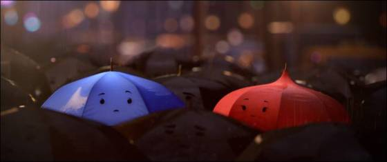 Pixar Blue Umbrella First Look