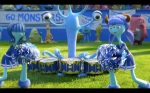 Pixar Monsters University Cheerleaders
