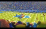 Pixar Monsters University Football