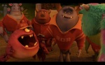 Pixar Monsters University Frat Monsters