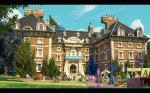Pixar Monsters University Freshmen Dorms