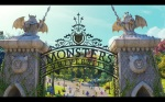 Pixar Monsters University Gate