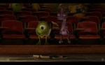Pixar Monsters University Mike and Randall