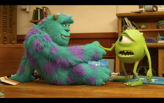 Pixar Monsters University Mike and Sully