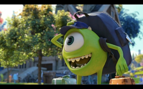 Pixar Monsters University Mike Wazowski