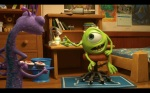 Pixar Monsters University Randall and Mike