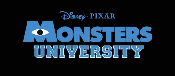Pixar Monsters University Title