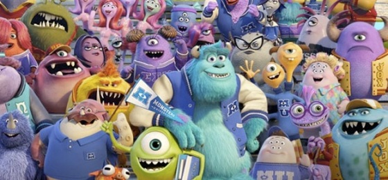 Pixar Monsters University Trailer