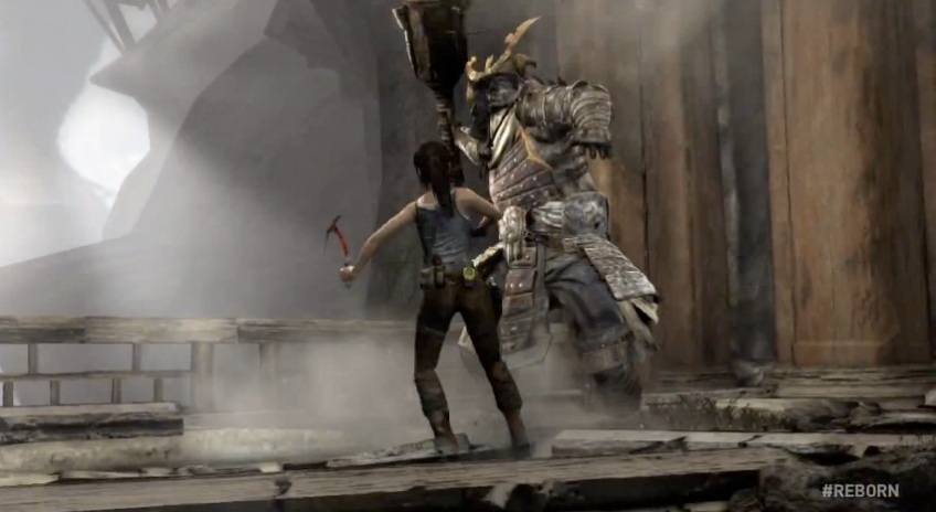 Tomb Raider Gameplay Reborn Trailer 18 Turn The Right Corner