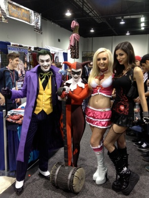 WonderCon 2013 Jessica Nigri and Leanna Vamp