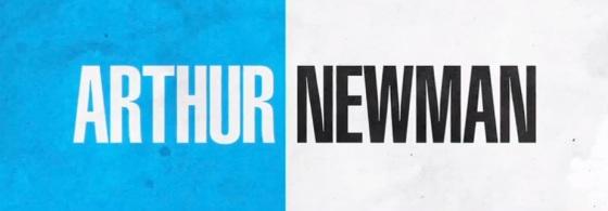 Arhtur Newman Movie Title Logo