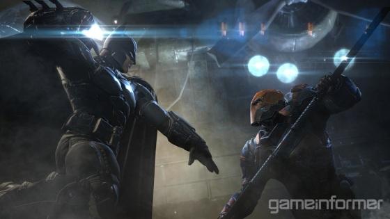 Batman Arkham Origins Batman and Deathstroke
