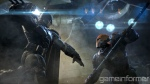 Batman Arkham Origins Deathstroke and Batman