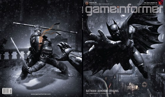 Batman Arkham Origins Game Informer Cover