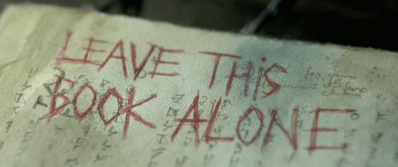 Evil Dead 2013 Necronomicon