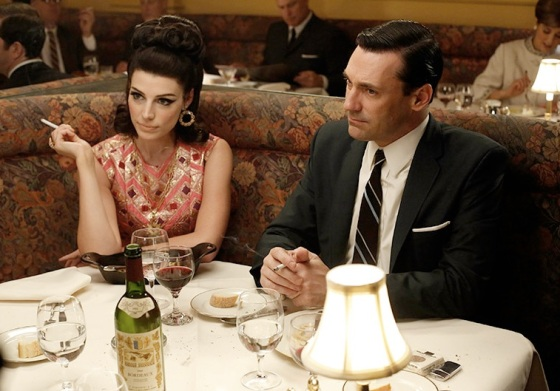 Mad Men Season 6 Episode 4, 'To Have and To Hold,' Don Draper and Megan
