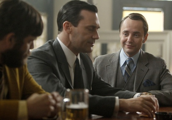 Mad Men Season 6 Episode 4, 'To Have and To Hold,' Don Draper Pete Campbell