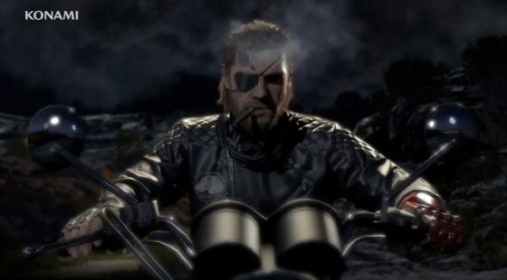 Metal Gear Solid 5 The Phantom Pain GDC 2013 Trailer Motorcycle Big Boss