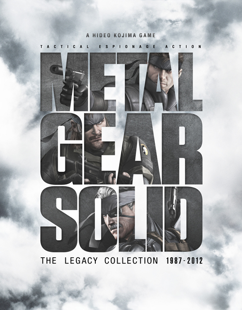 Metal Gear Solid The Legacy Collection Box Cover