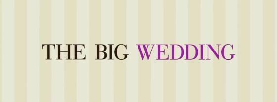 The Big Wedding Movie Title Logo